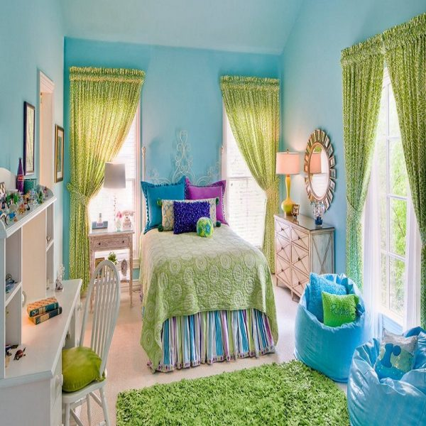 10 Creative Girls Bedroom Ideas Without Pink Decor Corners