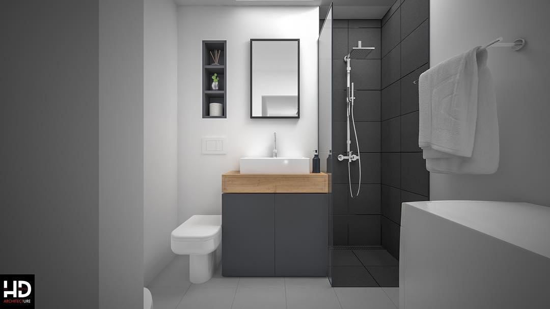 Small Bathroom Trends 2020: Photos And Videos Of Small ... on Small Bathroom Ideas 2020 id=35859