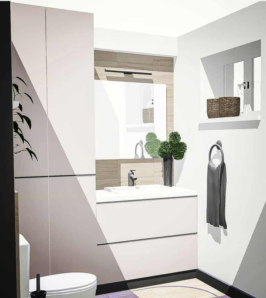 Small Bathroom Trends 2020: Photos And Videos Of Small ... on Small Bathroom Ideas 2020 id=44316