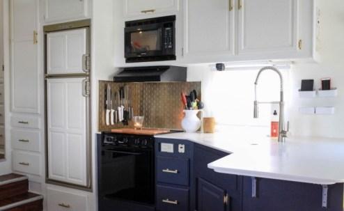 110 RV & Camper Van Remodel, Hacks Interior Decor Ideas