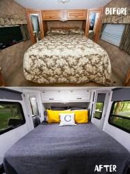 27 RV & Camper Van Remodel, Hacks Interior Decor Ideas