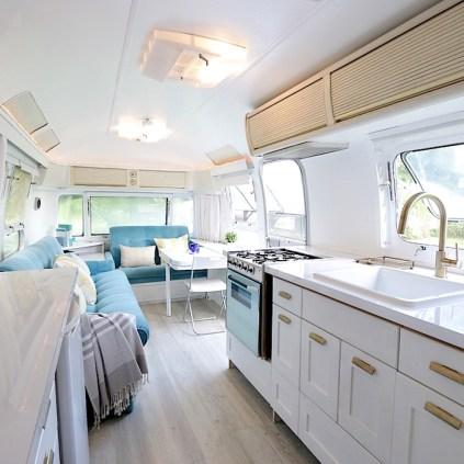 46 RV & Camper Van Remodel, Hacks Interior Decor Ideas