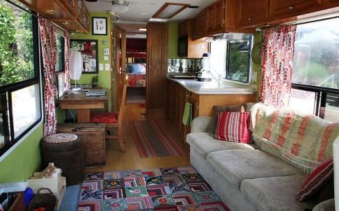 64 RV & Camper Van Remodel, Hacks Interior Decor Ideas