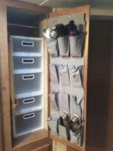Creative Camper Van & RV Storage 01 Ideas