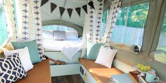 16 Best Camper Interior Hacks, Makeover, Remodel Decorating Ideas