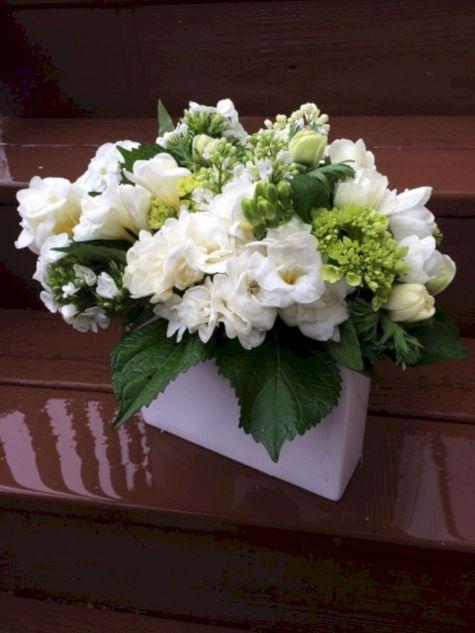 Elegant White Floral Arrangement