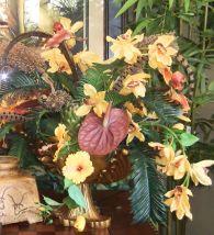 Realistic Silk Flower Arrangements