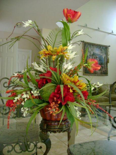 Silk Floral Arrangement Ideas