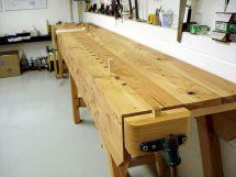 Wood Workbench Plans 5