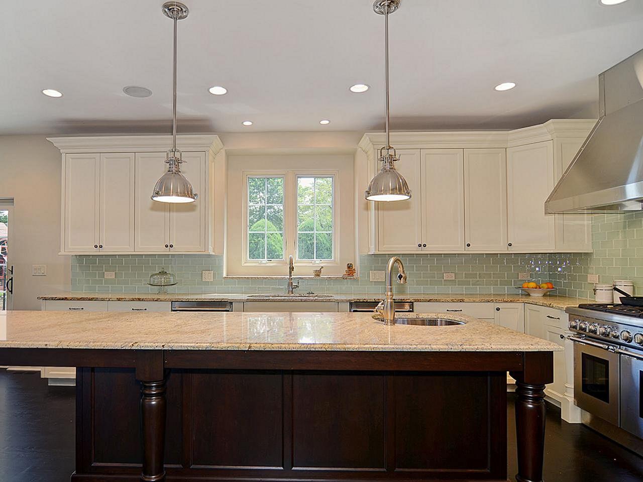 - 41 Blue Glass Tile Kitchen Backsplash – DECOREDO