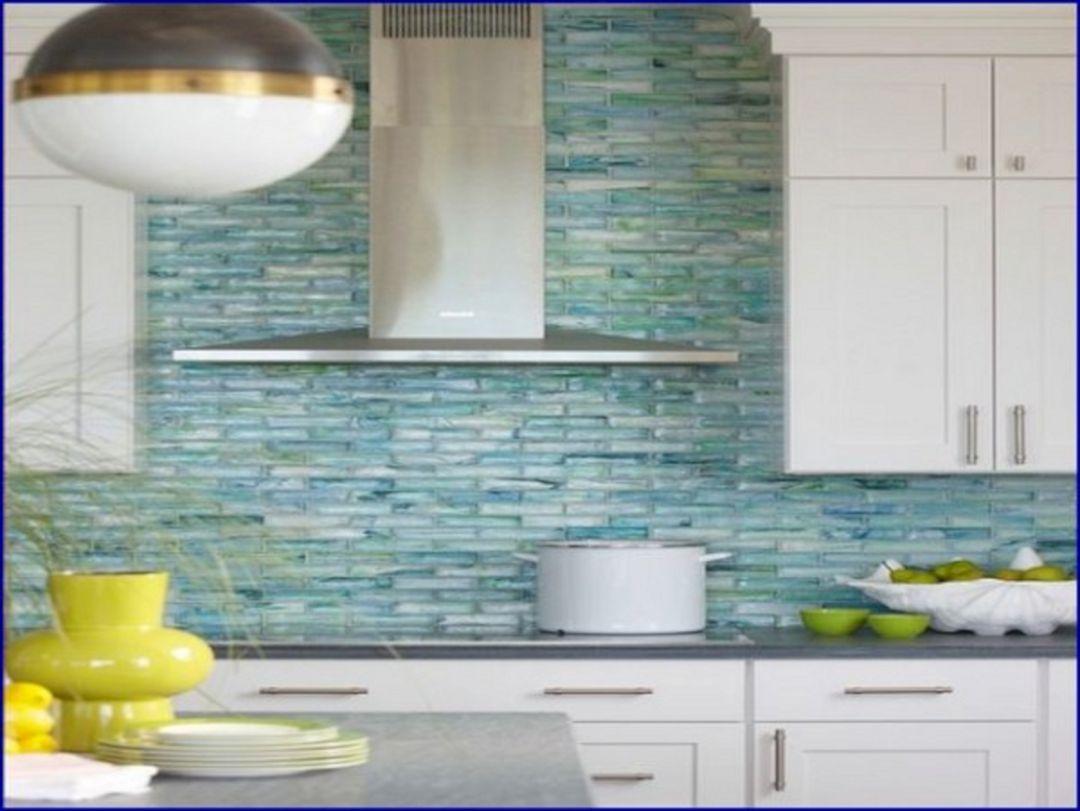 5 sea glass tile kitchen backsplash - decoredo