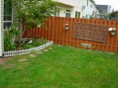 Backyard Fence Ideas