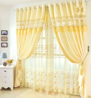 Beautiful Curtain Princess Design Ideas 5
