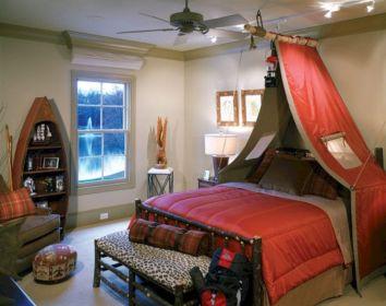 Boy Bedroom Camping Theme
