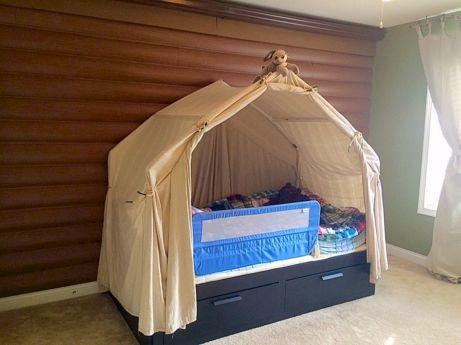 Boy Bedroom Camping