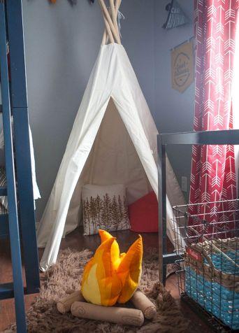 Camping Bedroom Decor