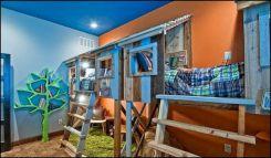 Camping Theme Boy Bedroom