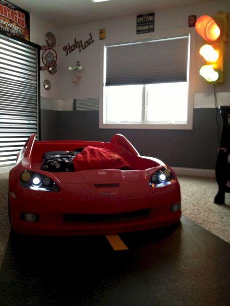 Car Garage Theme Bedroom
