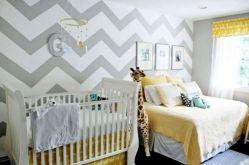Chevron Walls Baby Room Ideas
