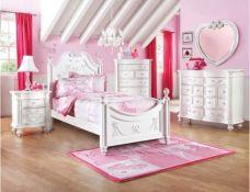 Disney Princess White Bedroom Set