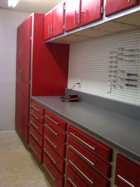 Good Ideas About Garage Workbench No 22