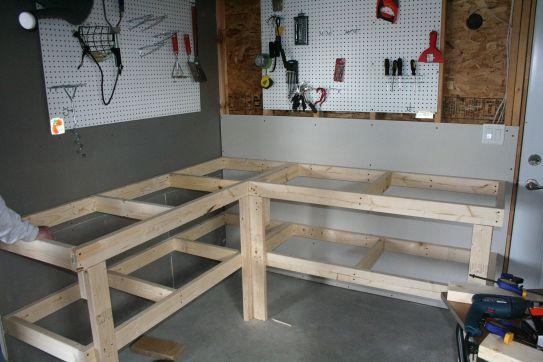 Good Ideas About Garage Workbench No 25