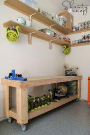Good Ideas About Garage Workbench No 45