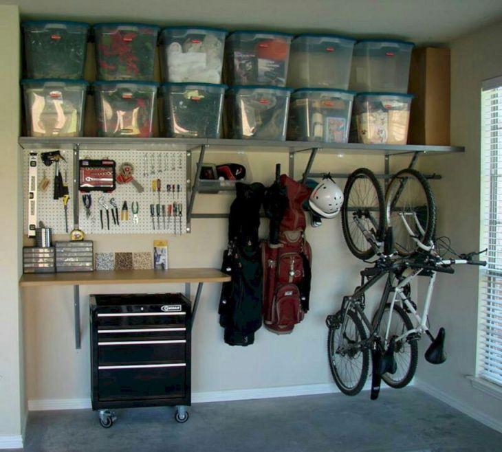 Wonderful Garage Workbench Design Ideas