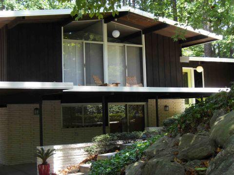 Home Mid Century Modern Exterior