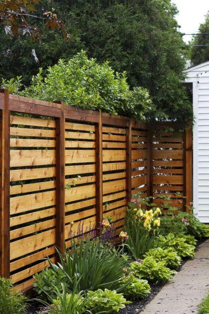 Horizontal Privacy Fence Ideas
