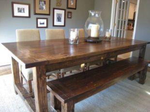 How to Build a Farmhouse Dining Room Table