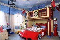 Kids Car Bed for Boys Room Ideas