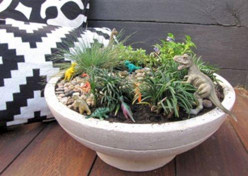 Make A Miniature Dinosaur Garden 10