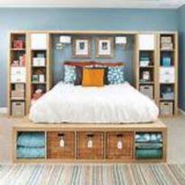 Master Bedroom Storage Idea