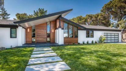Mid Century Home Modern Exterior