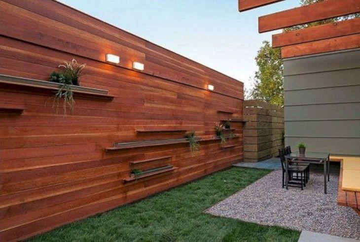 horizontal wood fence diy. Modern Horizontal Wood Fence Diy N