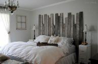 Barn Wood Headboard DIY