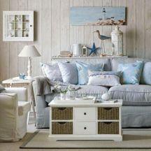 Beach Cottage Living Room Decor