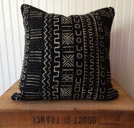 Beautiful Mud Cloth Pillow