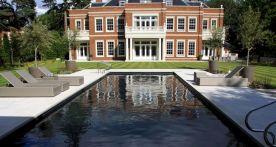 Black Tile Swimming Pools Design