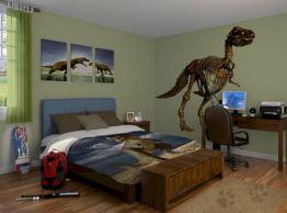 Boys Dinosaur Bedroom