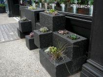 Cinder Block Planters