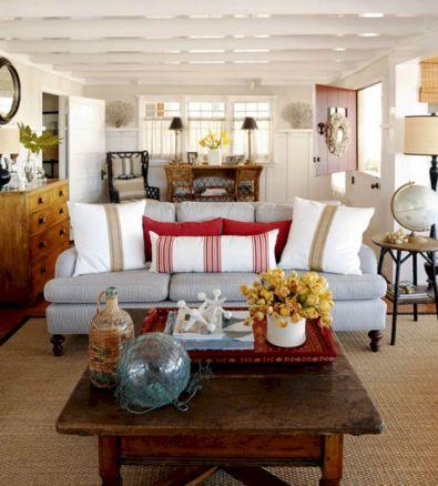 Cottage Beach House Living Room Decor