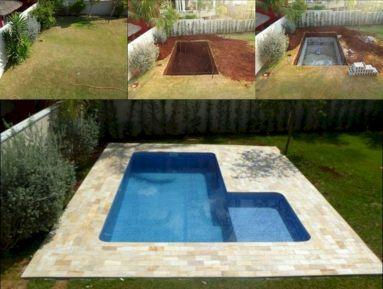 DIY Cinder Block Swimming Pool