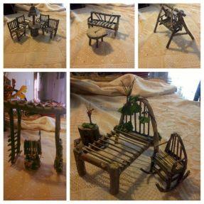 DIY Fairy Garden Furnitures