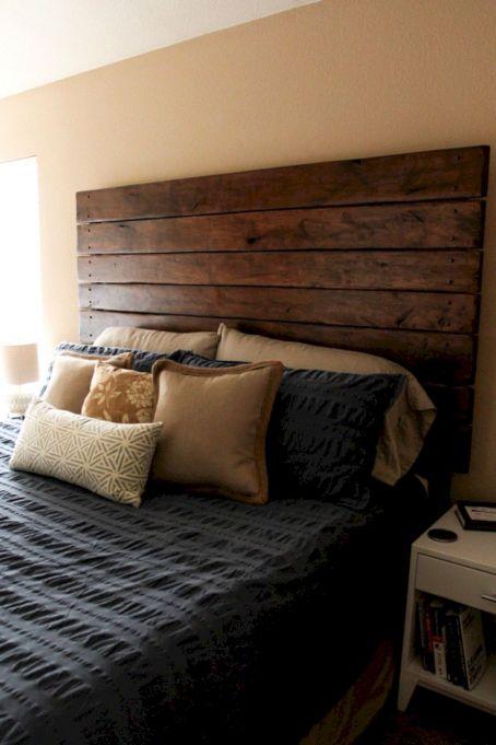 DIY Wood Headboard Ideas