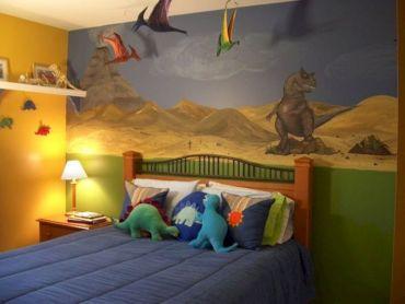Dinosaur Bedroom for Kids Room