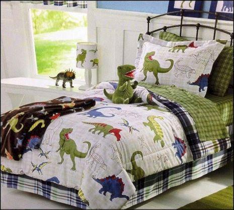 Dinosaur Theme Bedroom Decor