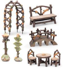Fairy Garden Accessories and Furniture