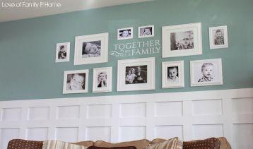 Family Living Room Wall Ideas Photos